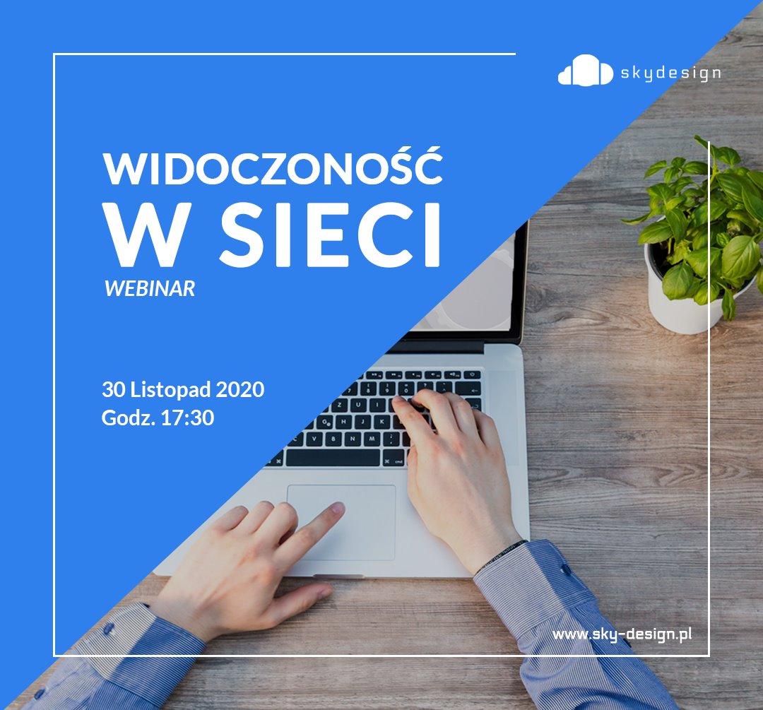 Widoczność w sieci - Webinar