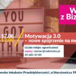 Motywacja 3.0 – nowe spojrzenie na motywację