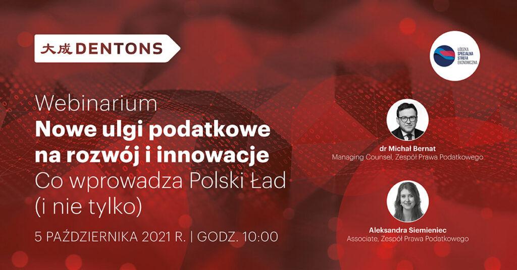 Nowe ulgi podatkowe na rozwój i innowacje – co wprowadza Polski Ład